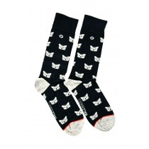 MS01-MaleBasics Fun Sock-Feline