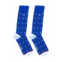 MS01-Malebasics Fun Socks-Polka