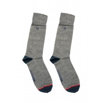 MS02-Malebasics Dress Sock-Gray